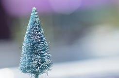 Bloßer Weihnachtsbaum Stockfotos