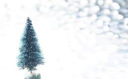 Bloßer Weihnachtsbaum Stockfotografie