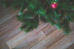 Bloßer Weihnachtsbaum Lizenzfreie Stockfotografie