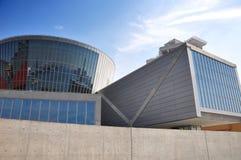 Bloßes konkretes Museum - Osaka, Japan Stockbild