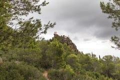 Bloßes La Roca, Spanien de Deu de Stockfotos