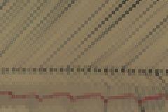 Bloc brun abstrait de mosaïque Photo stock