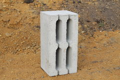 Bloc concret Photographie stock