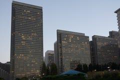 Bloc constitutif le secteur financier à San Francisco photographie stock libre de droits