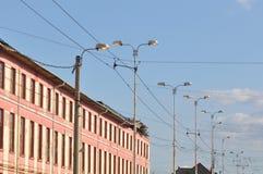 Bloc d'appartements Images libres de droits