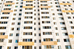 Bloc d'appartements photo stock