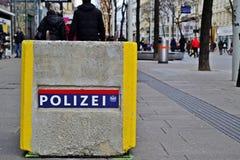 Bloc de béton chez Mariahilferstrasse, Wien Images stock