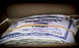Bloc de billets pour 100 dollars Photographie stock