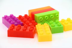 Bloc de Lego Photographie stock libre de droits
