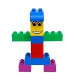 Bloc de lego de gens Photo stock