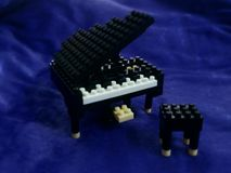 Bloc de piano Image stock