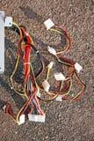 Bloc de système de câbles Photo stock