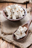Bloc de tofu photo stock
