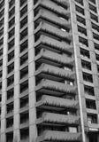 Bloc de tour résidentiel concret Image libre de droits