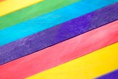Bloc en bois coloré Photo libre de droits