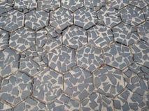 Bloc en pierre La route royale Photographie stock
