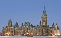 Bloc est Canada Images libres de droits
