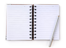 bloc-notes Photographie stock libre de droits