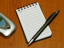 bloc-notes Images libres de droits