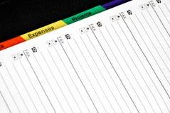 Bloc - notes Photos libres de droits