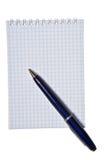 Bloc - notes avec l'espace de copie Photographie stock libre de droits