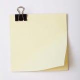 Bloc-notes blanc Images stock