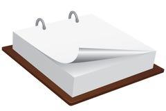 bloc-notes blanc illustration de vecteur