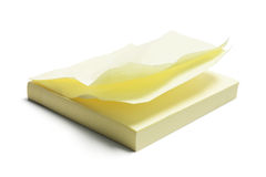 Bloc-notes de post-it Photographie stock