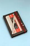Bloc-notes sous forme de cassette Images stock