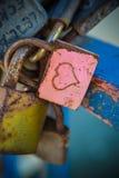 Blocage d'amour Photographie stock libre de droits