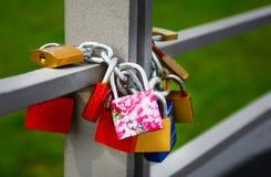 Blocage d'amour Images libres de droits