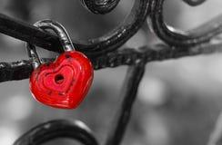 Blocage d'amour mariage Photo libre de droits