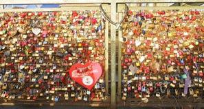 Blocage de l'amour Photo libre de droits
