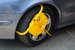 Blocage de roue Photos stock