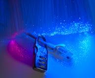 Blocage et câble de réseau photo libre de droits