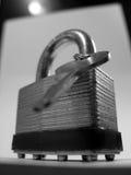 Blocage et clé Image libre de droits