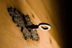Blocage et clé series2 Images libres de droits