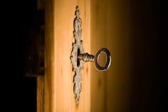 Blocage et clé series7 Photos libres de droits