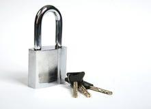 Blocage et clés Photos libres de droits