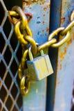Blocage et réseau Photographie stock libre de droits