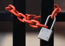 Blocage et réseau Image libre de droits