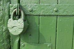 Blocage vert Photographie stock