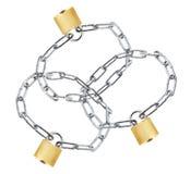 blocages de réseaux Photo stock