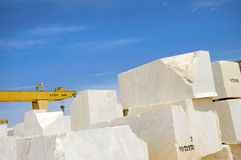 Blocchetti 4 del marmo Fotografia Stock Libera da Diritti