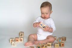 Blocchetti del bambino Immagini Stock