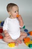 Blocchetti del bambino immagine stock