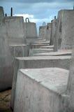 Blocchetti del cemento Fotografie Stock Libere da Diritti
