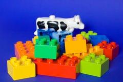 Blocchetti del cubo Fotografie Stock Libere da Diritti