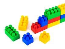 Blocchetti del giocattolo Fotografia Stock