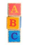 Blocchetti del giocattolo Fotografie Stock